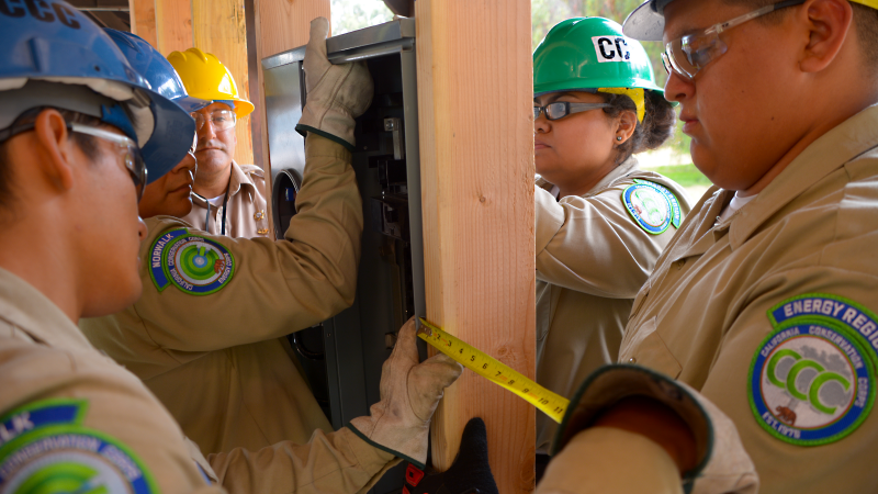 Photo electrical training