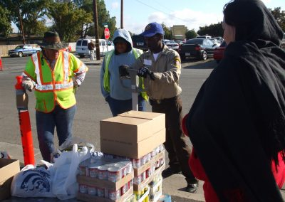 Emergency Other Emergency Response Efforts – CMs Distributing Food at Food Bank