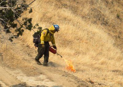 Butte 3 CM Ignites Back Burn
