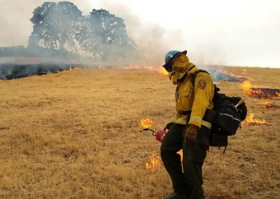 Butte 3 CM Ignites Backfire on Deer Fire - Edited